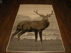 Modern Approx 6x4 120x170cm Woven Backed Stag Rug Sale Top Quality Greys